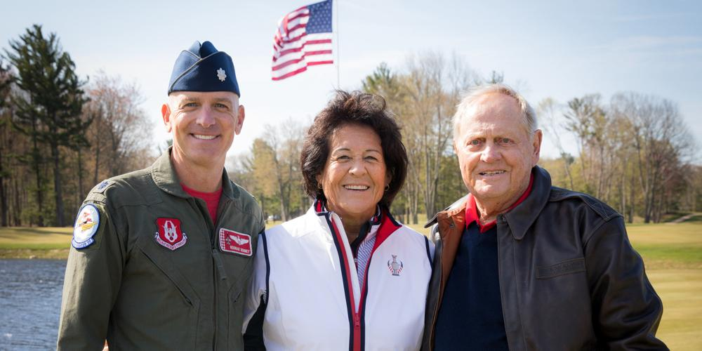 American Dunes - Lt Col Rooney, Nancy Lopez, Jack Nicklaus