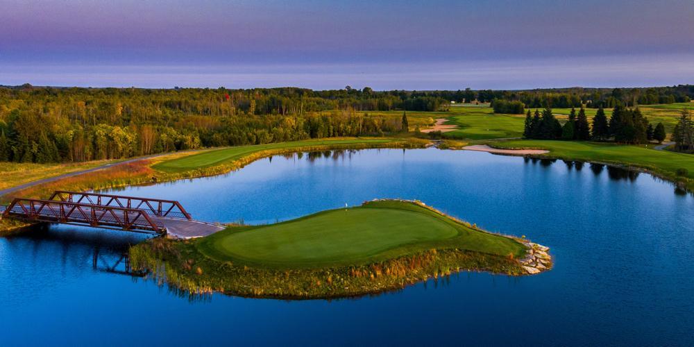 Sweetgrass Golf Club - Island Hole #15